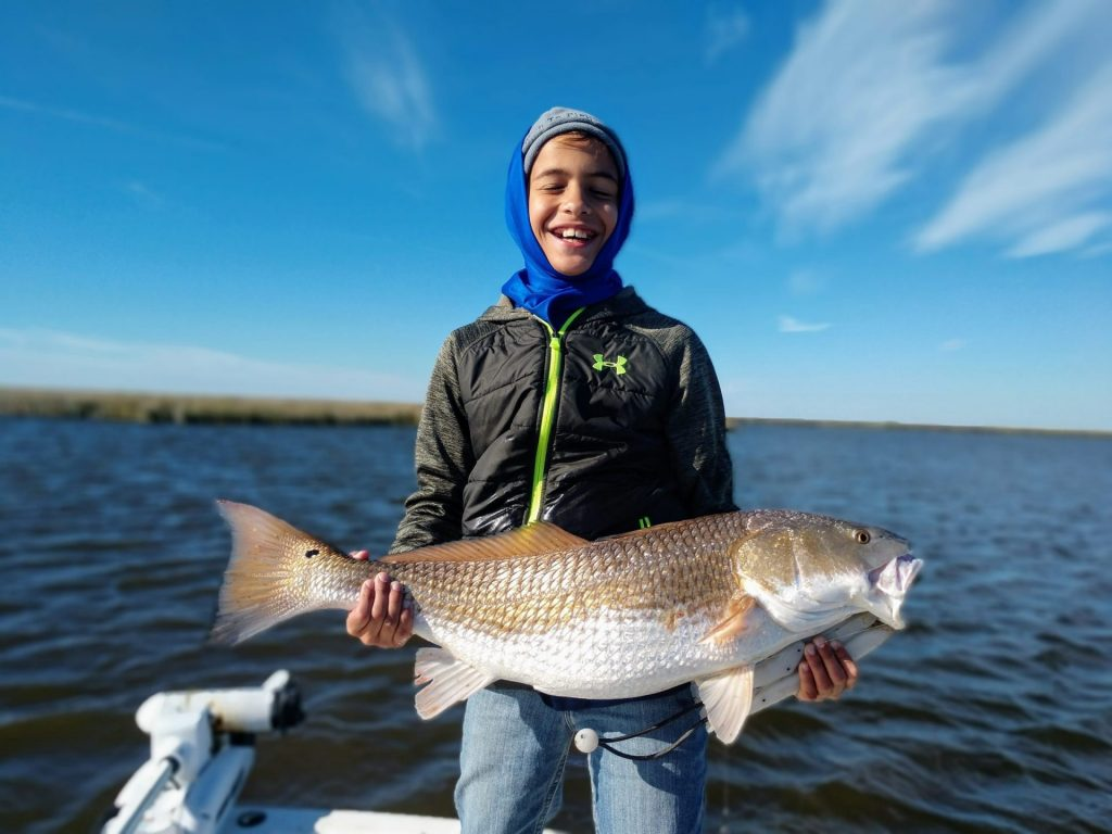 Guided Louisiana Fishing Charter - Redfish Nation - Redfish Catch